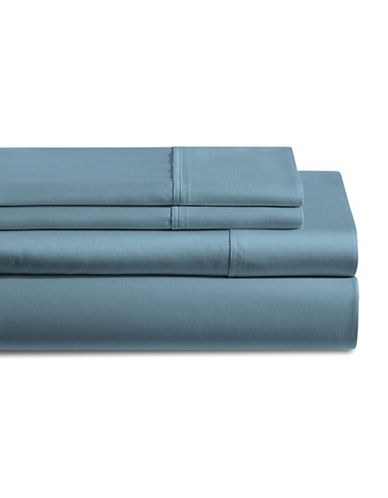Distinctly Home 250 Thread Count Four-Piece Sheet Set-BLUE-Twin
