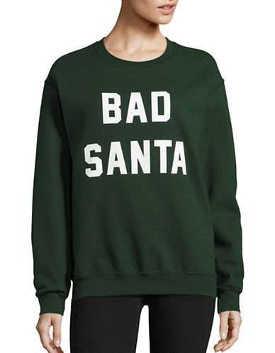 Adolescent Clothing Bad Santa Sweatshirt-GREY-Medium 88749288_GREY_Medium