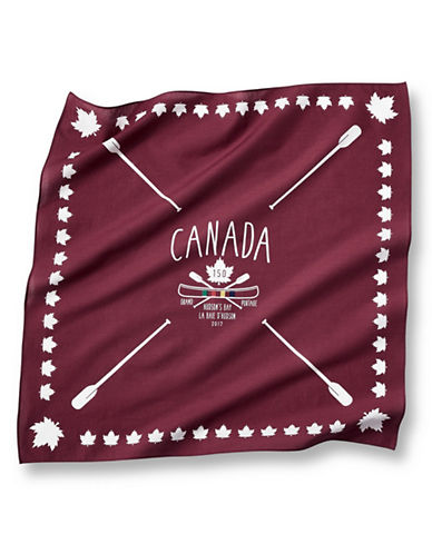 Grand Portage Canada 150 Printed Bandana-RED-One Size