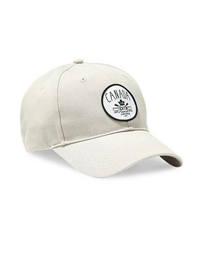 Grand Portage Canada Motif Baseball Cap-BEIGE-One Size