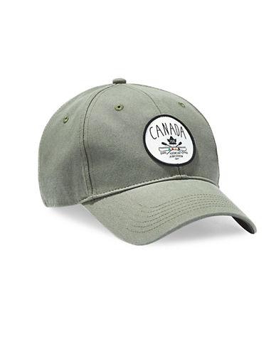 Grand Portage Canada Motif Baseball Cap-GREEN-One Size