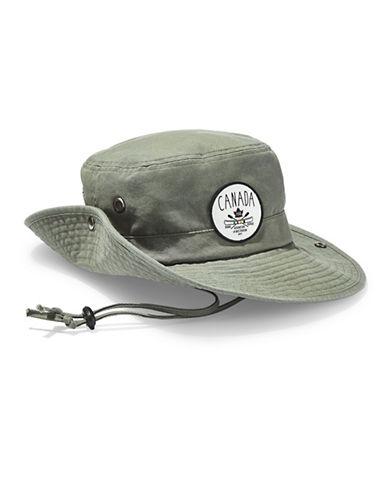 Grand Portage Cotton Safari Hat-GREEN-One Size