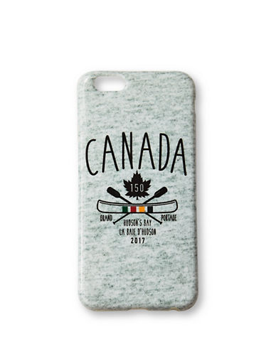 Grand Portage Canada Printed iPhone 6-6S Case-GREY-One Size