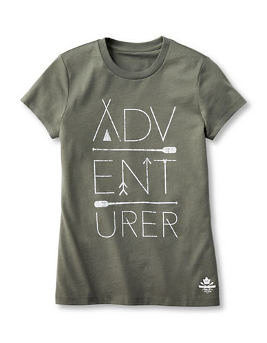Grand Portage Boys Adventurer T-Shirt-GREEN-10-12