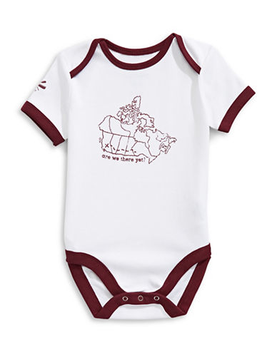Grand Portage Baby Canada Map Bodysuit-WHITE-12-18 Months