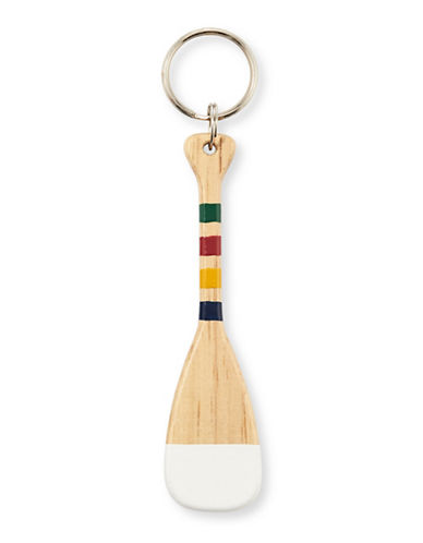 Grand Portage Souvenir Paddle Keychain-MULTI-One Size
