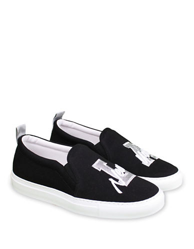 Joshua Sanders 10048 Lurex Sneakers-BLACK-EUR 39/US 9