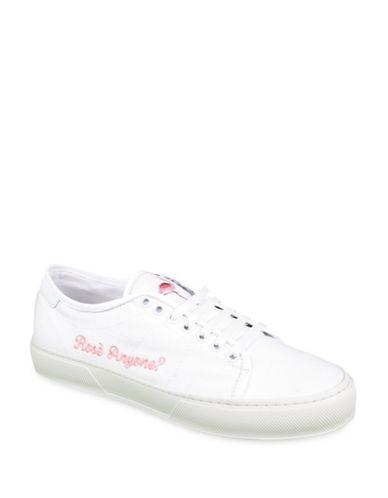 Joshua Sanders Rose Anyone Sneakers-WHITE-EUR 39/US 9