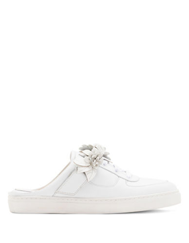 Sophia Webster Lilico Jessie Slip-On Mule Sneakers-WHITE-EUR 38/US 8