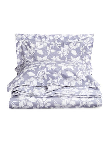Distinctly Home Three-Piece Kira Duvet Cover Set-PURPLE-King