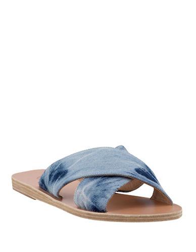 Ancient Greek Sandals Thais Crossover Sandals-BLUE-EUR 40/US 10