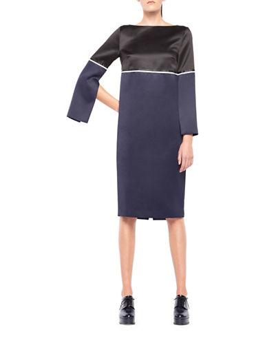 Co + Co Dayo Tunic Dress-BLUE-2