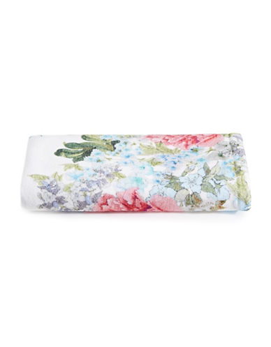 Distinctly Home Floral Cotton Hand Towel-PINK-Hand Towel