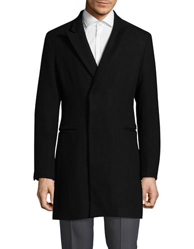 Haight And Ashbury Bayswater Topcoat-BLACK-Medium