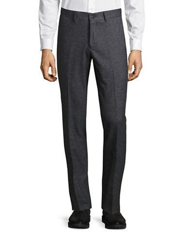 Haight And Ashbury Upton Slim-Fit Dress Pants-BLUE-30X36