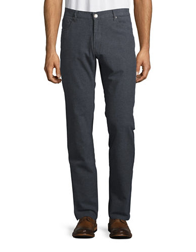 Haight And Ashbury Bristol Regular-Fit Stretch Pants-BLUE-30