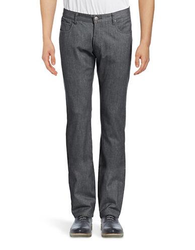 Haight And Ashbury Bristol Tonal Five-Pocket Slim Pants-GREY-30