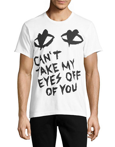 Dom Rebel Eyes T-Shirt-WHITE-Small