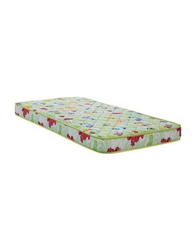 Springwall Sesame Street AquaGel Memory Foam Mattress in a Box-WHITE-Twin