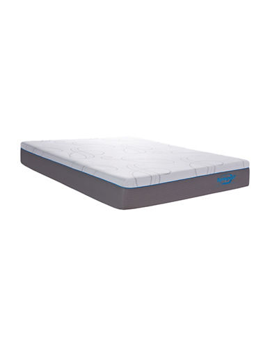 Springwall Beaches Pocket Coil Mattress in a Box-WHITE-Twin