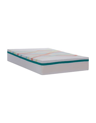 Springwall Jamboree Chiropractic Support Mattress in a Box-WHITE-King