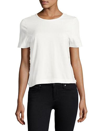 Sea Ny Open Lace Back T-Shirt-WHITE-X-Small 88996434_WHITE_X-Small