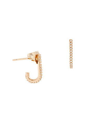Melanie Auld Pave Wrap Earrings-GOLD-One Size