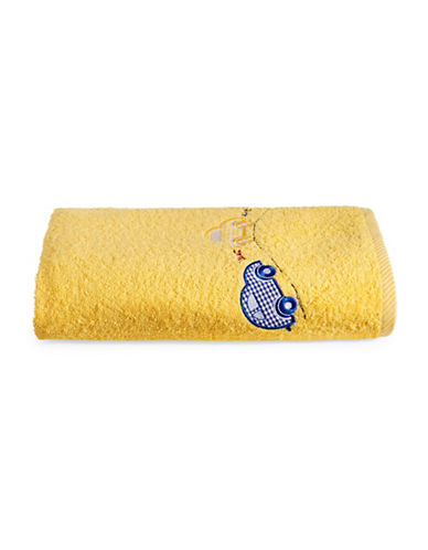 Bob Der Bar Car Square  Turkish Cotton Bath Towel-YELLOW-Bath Towel