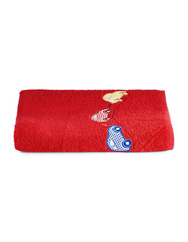 Bob Der Bar Car Square  Turkish Cotton Bath Towel-RED-Bath Towel