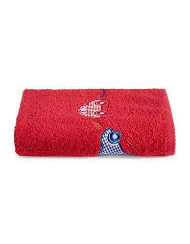 Bob Der Bar Car Cotton Hand Towel-RED-Hand Towel