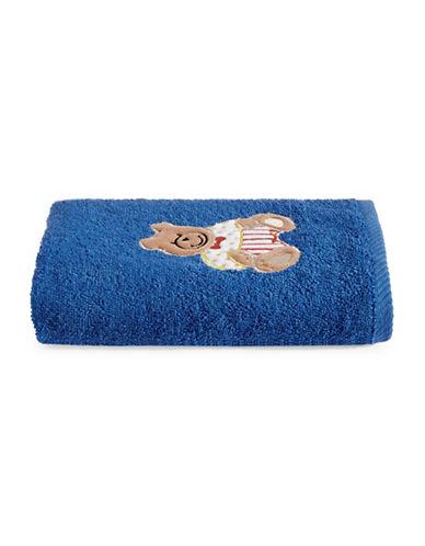 Bob Der Bar Bear Cotton Hand Towel-BLUE-Hand Towel