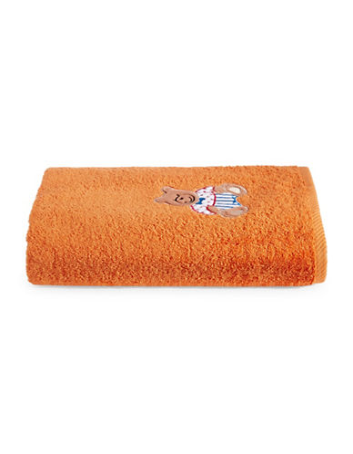 Bob Der Bar Bear Cotton Square Bath Towel-ORANGE-Bath Towel