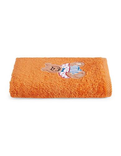 Bob Der Bar Bear Cotton Hand Towel-ORANGE-Hand Towel