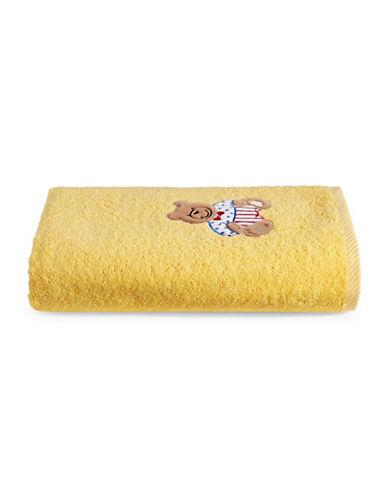 Bob Der Bar Bear Cotton Square Bath Towel-YELLOW-Bath Towel