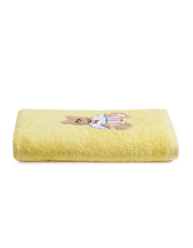 Bob Der Bar Bear Cotton Hand Towel-YELLOW-Hand Towel