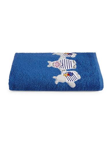 Bob Der Bar Hippo Cotton Square Bath Towel-BLUE-Bath Towel