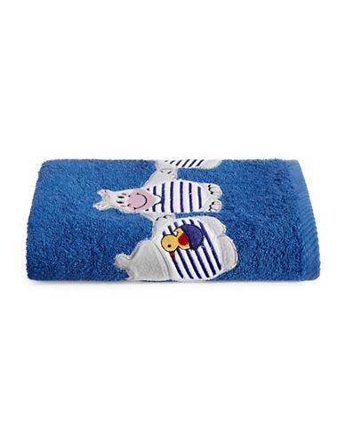 Bob Der Bar Hippo Cotton Hand Towel-BLUE-Hand Towel