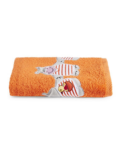 Bob Der Bar Hippo Cotton Hand Towel-ORANGE-Hand Towel