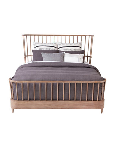 Crafted by Thomasville Cordell Spindle Bed in Rustic Oak | Hudson\'s Bay
