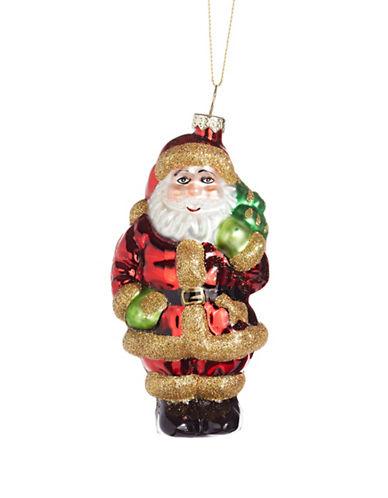 Glucksteinhome Aspen Charm Santa Ornament-MULTI-One Size