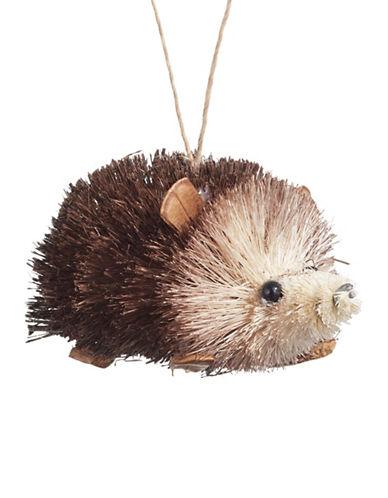 Glucksteinhome Aspen Charm Bristle Hedgehog Ornament-BROWN-One Size