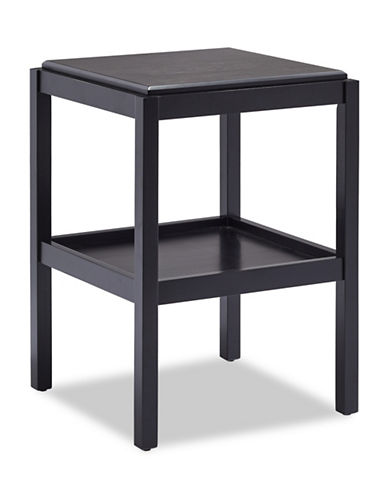 Home Studio Peterson Accent Table-BLACK-One Size