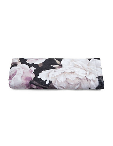 Distinctly Home Cotton Floral Hand Towel-PINK-Hand Towel