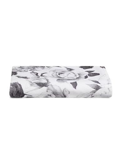 Distinctly Home Floral Bath Towel-WHITE-Bath Towel