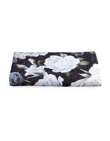 Distinctly Home Floral Bath Towel-BLUE-Bath Towel