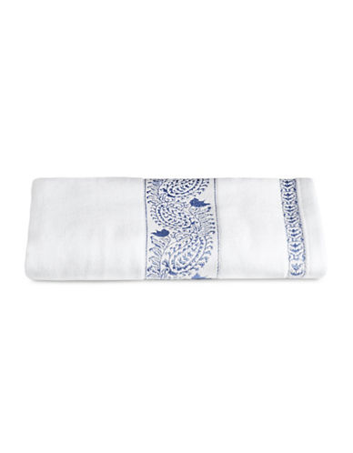 Distinctly Home Embroidered Bath Towel-BLUE-Bath Towel