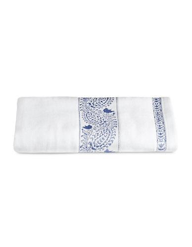Distinctly Home Paisley Print Hand Towel-BLUE-Hand Towel