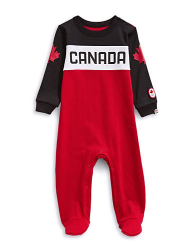 Canadian Olympic Team Collection Infant Canada Media Sleeper-RED-0-6 Months