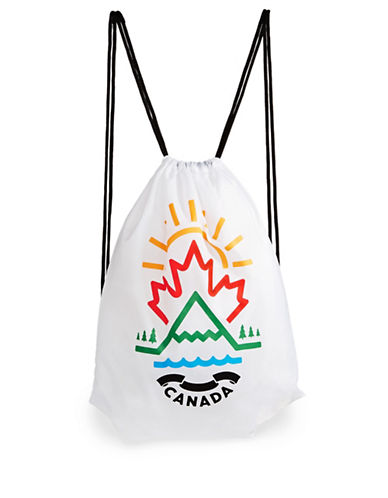 Canadian Paralympic Team Collection Graphic Shoe Bag-WHITE MULTI-One Size