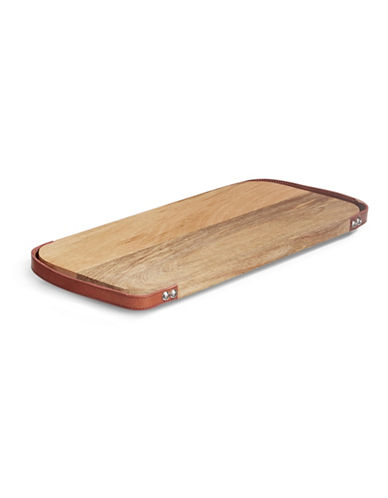 Glucksteinhome Lucca Rectangle Serving Board with Handles-WOOD-One Size